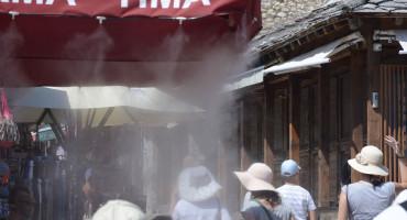 PROGNOZA Za Mostar upaljen žuti meteoalarm zbog vrućine i grmljavine