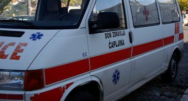 MUP HNŽ Pješakinja u Čapljini teže ozlijeđena; SKB MOSTAR Konstatirane lakše tjelesne ozljede
