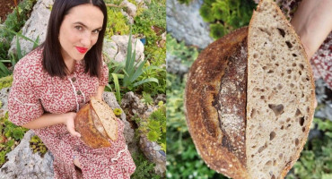 Sourdough kruh hercegovačke glumice