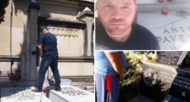 UGASIO PROFIL Iz Crne Gore došao Blagota da pomokri spomenik Ludvigu