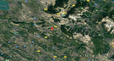 Zabilježen slabiji potres kod Posušja