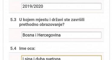 Objava studenta iz Livna nasmijala društvene mreže