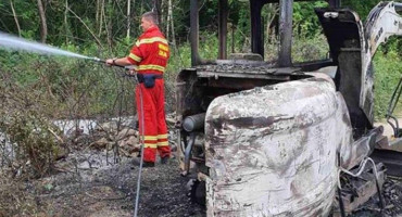 HNŽ U posljednja 24 sata čak 12 prometnih nesreća, u Čapljini gorio bager te osobni automobil