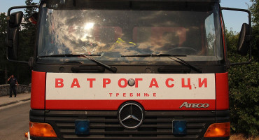 Veliki požar u istočnoj Hercegovini, zatvorena magistralna cesta