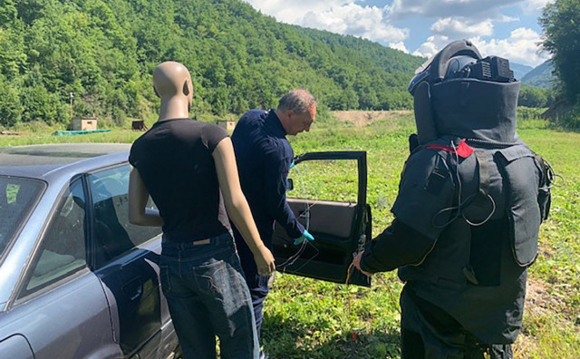 MOSTAR-SARAJEVO Granični policajci uspješno završili obuku kriznih situacija