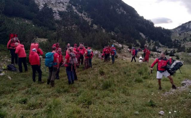 AKCIJA 46 spasioca iz Hercegovine izvlačilo ozlijeđenog planinara sa Prenja