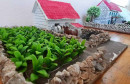 ANTE IZ GRUDA Maketama oživljava rodne kuće i polja duhana za one koji su odselili