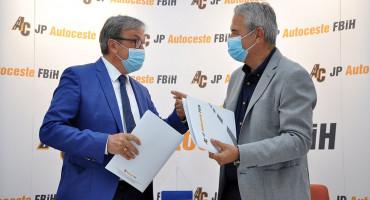 Potpisan ugovor o izgradnji poddionice Tarčin – ulaz u tunel Ivan