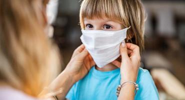 Svjetska zdravstvena organizacija savjetuje da i djeca nose maske