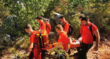 INTERVENCIJA HGSS kod Međugorja spasio ozlijeđenu 26-godišnjakinju