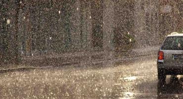 ŽUTI METEOALARM Kiša i pljuskovi praćeni grmljavinom