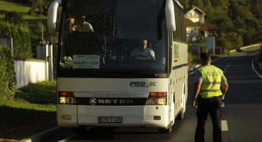 Policijski punkt na ulazu u USŽ: Migrantima nema prolaza