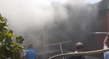 NEUM U požaru izgorjela obiteljska kuća