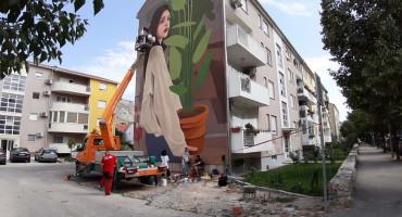 STREET ARTS Novo lice mostarske ulice, novi mural uljepšao središte grada