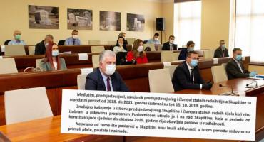 REVIZIJA U SKUPŠTINI HNŽ Zastupnici dobivali paušal za nerad, isplaćeno više od 168 tisuća maraka