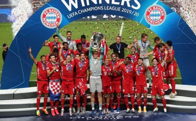 LIGA PRVAKA Bayern prvak Europe!