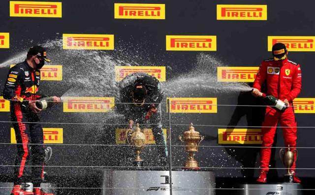 Hamilton s probušenom gumom osvojio utrku u Engleskoj