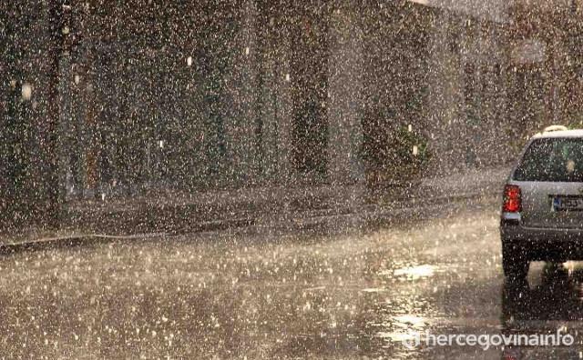 U BiH danas  oblačno i nestabilno vrijeme sa pljuskovima i grmljavinom