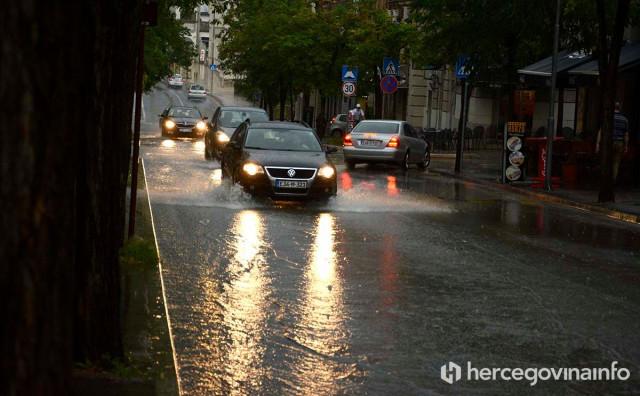 PROBLEMI Nova kiša u Mostaru i nove nevolje