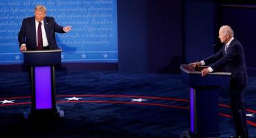 TRUMP I BIDEN Žestoki napadi i uvrede u kaotičnoj prvoj predsjedničkoj debati