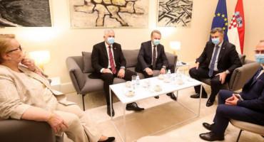 Hrvatska dala potporu BiH na putu za EU, Komšić im poručio da odbiju