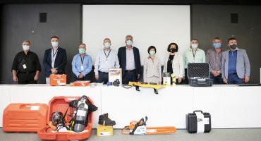 DONACIJA Hercegovačke općine dobile vrijednu vatrogasnu opremu