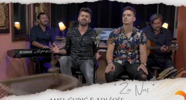ZA NAS Amel Ćurić i Mostarac Adi Šoše oduševili izvedbom velikog hita