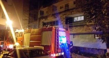 Gorio stan u Zvonimirovoj, uzrok zaboravljena šerpa na šporetu