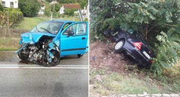 """NA """"CRNOJ TOČKI"""" Teška prometna nesreća u Radišićima"""