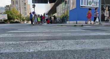 IZBJEGNUTA TRAGEDIJA U DUBROVAČKOJ Nitko ne mari za najopasniju ulicu u Mostaru