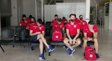 Nogometaši Zrinjskog lete prema Sloveniji po europski iskorak