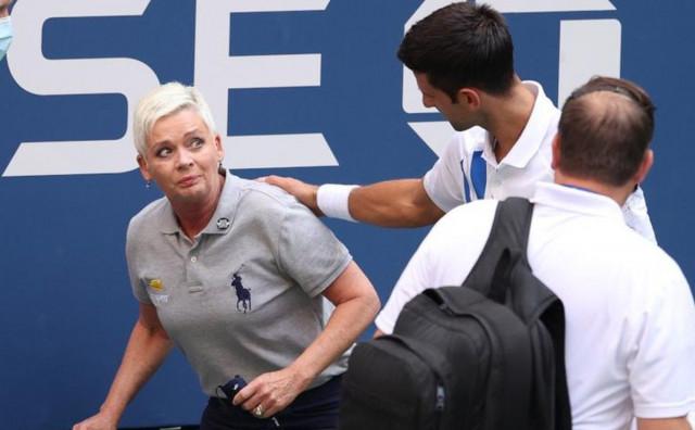 US OPEN Đoković diskvalificiran nakon što je lopticom u glavu pogodio sutkinju