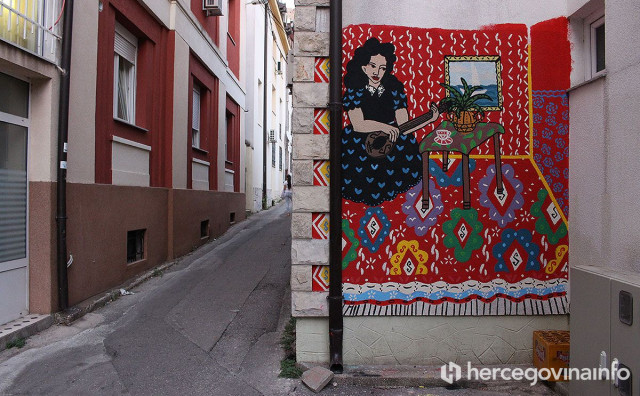 STREET ART Mostar ofarban novim bojama