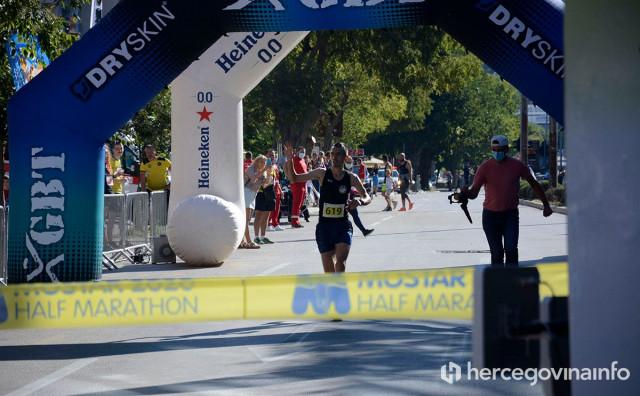 Najbrži na mostarskom polumaratonu je trkač iz Hrvatske