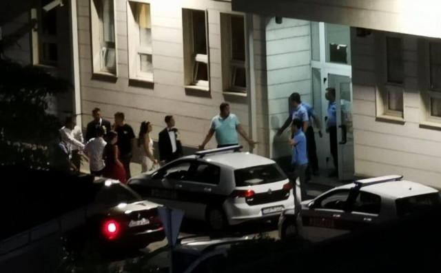 ŠIROKI BRIJEG Policija privela dio svadbene povorke