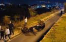MOSTAR Automobil nakon sudara završio na krovu, ozlijeđena jedna osoba
