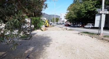 MOSTAR Bez vode Ulica Blajburških žrtava