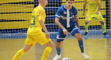 MAJSTORIJA ŠIROKOBRIJEŽANINA Ante Grbešić postigao je najljepši pogodak u srazu Starog Grada i Brotnja