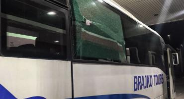 OPET BUGOJNO Na ulazu u grad kamenovan autobus hrvatskog autoprijevoznika