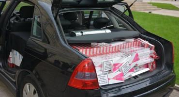 Kod Trebinja zaplijenjeno skoro 10.000 kutija cigareta
