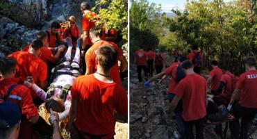 OZLIJEĐENA STRANA DRŽAVLJANKA GSS-ovci intervenirali na brdu Križevac