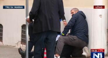 ZAGREB Upucan policajac na Markovu trgu