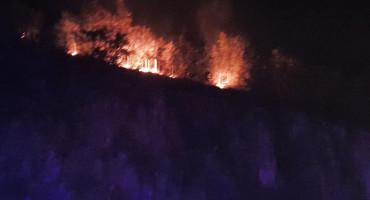 POŽAR Mostarski vatrogasci borili se s vatrom na Kvanju