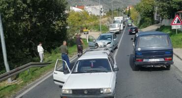 MOSTAR U sudaru tri vozila jedna osoba teško, a dvije lakše ozlijeđene