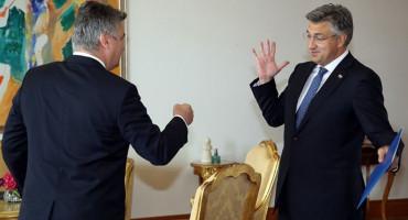 PRED BLAGDAN SVIH SVETIH Milanović pružio ruku pomirenja Plenkoviću