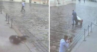 Policija objavila video napada na zgradu Vlade