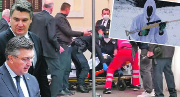 ISTRAGA Bezuk je guglao kuda se kreću Plenković i Milanović, nakon napada odmah su dobili blindirana vozila