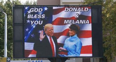 Podrška za Donalda Trumpa iz Trebinja
