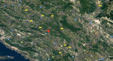 Novi potres u Hercegovini, epicentar kod Širokog Brijega
