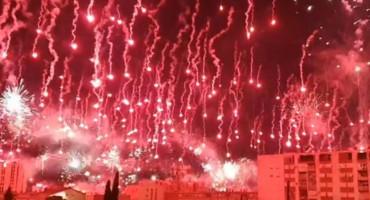 SPLIT GORI Toricida slavi 70. rođendan, fešta i u Čapljini gdje su se okupili navijači iz Hercegovine